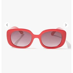Red Retro Kurt Cobain Sunglasses